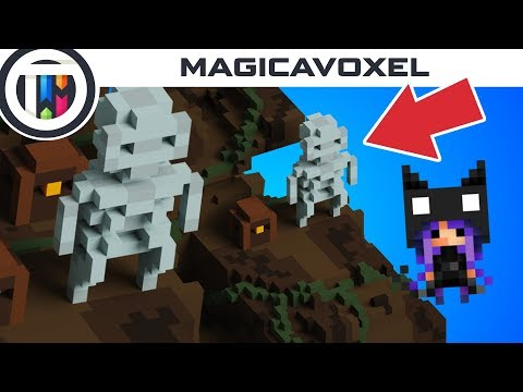 MagicaVoxel - First Impressions!