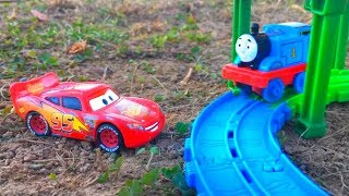 Disney Cars Lightning McQueen Rescues Thomas, Thomas and Friends Blind Bags Surprise Toys for Kids