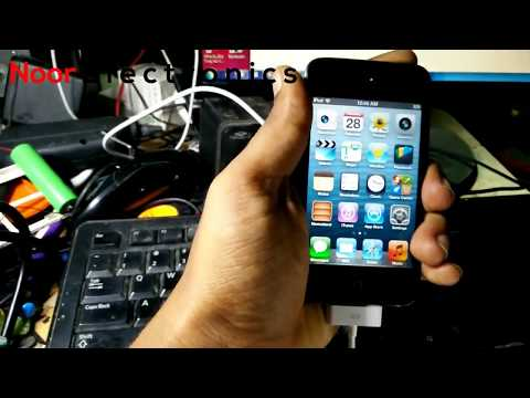 How to unlock iphone iPod  lock Without the passcode 100%