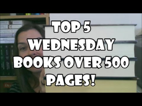 Top 5 Wednesday (Books over 500 pages)