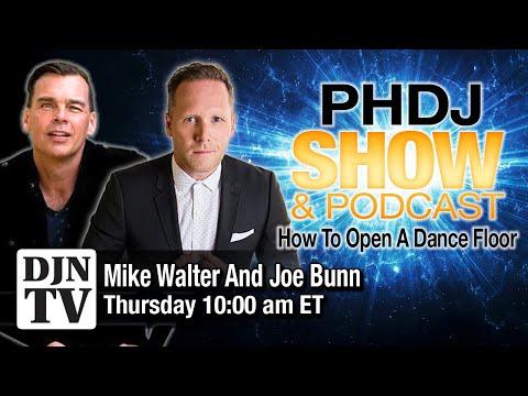 How To Open A Dancefloor DJ MC | PHDJ Podcast Workshop with Mike Walter and Joe Bunn | #DJNTV | #72