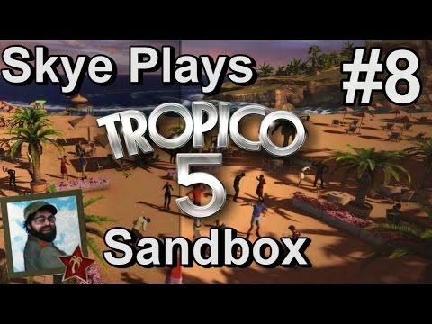 Tropico 5: Gameplay Sandbox #8 ►More Infrastructure and Happiness - WW Era◀ Tutorial/Tips Tropico 5