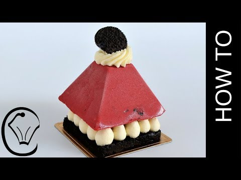 Red Velvet Oreo Cheesecake Pyramid Dessert  by Cupcake Savvy's Kitchen