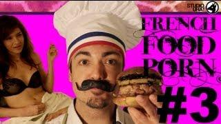 Download French Food Porn #3 - Le burger au foie gras Video
