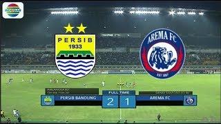 Persib (2) vs Arema (1) - Highlight Goal dan Peluang | Duel Raksasa Biru Friendly Match