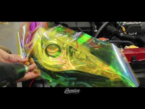 FRS / BRZ Neo Yellow Headlight Tint Overlay