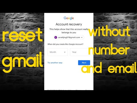 How To Reset Your Gmail Password Without Phone Number Or Emai 2017