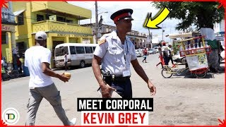 Jamaica's MOST PROFESSIONAL Cop at WORK (Smooth)