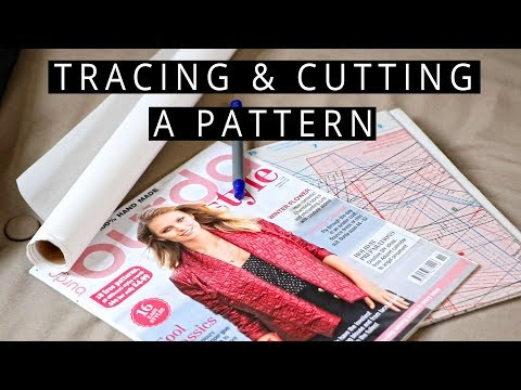 Tracing and Cutting Your Pattern Pieces   Szilvia Bodi