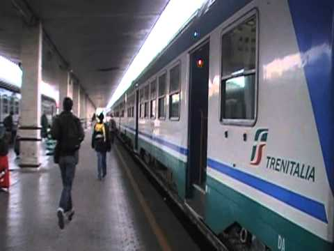 Catching a train to Siena