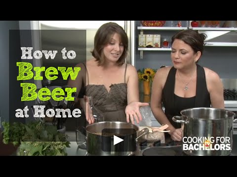 Beer Making by Cooking for Bachelors® TV