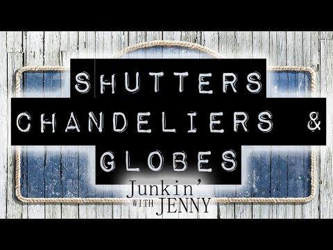 Shutters, Chandeliers & Globes   DIY & Home Design Ideas