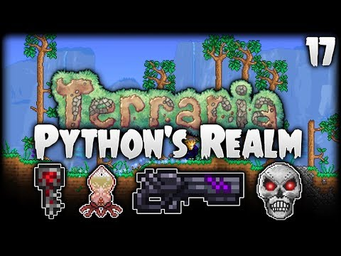 Terraria Let's Play (1.3.5) | EPIC Onyx Blaster! Skeletron Prime! | Python's Realm [S2 - Episode 17]