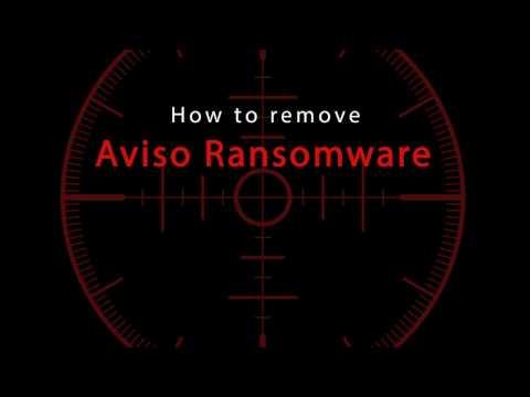 How to delete Aviso Ransomware