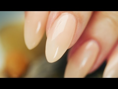 Almond-Shaped, Acrylic Nails Step By Step Tutorial
