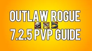 OUTLAW ONE BUTTON BURST MACRO - Outlaw Rogue PvP WoW Legion 7 2 5