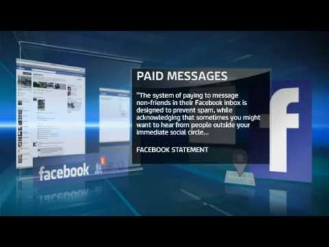 Facebook: New Charges For Sending Messages