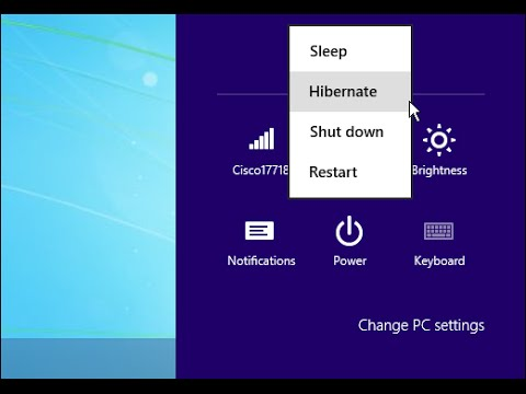 Enable OR Disable Hibernation in Windows 8 And 8.1 A Step By Step Tutorial