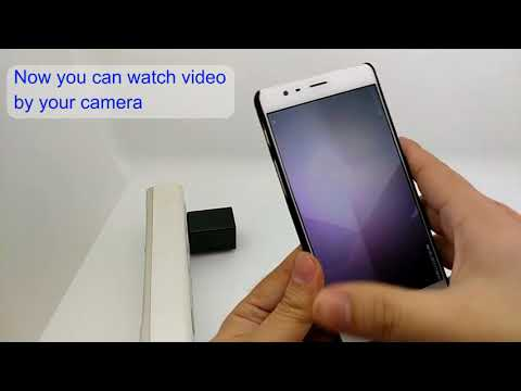 1080p Wifi Charger Spy Camera Instruction Video