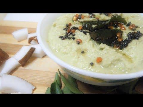 टेस्टी साउथ इंडियन स्टाइल नारियल चटनी-Coconut Chutney for Idli/dosa/Uttapam/Medu Vada/Mysore Bonda