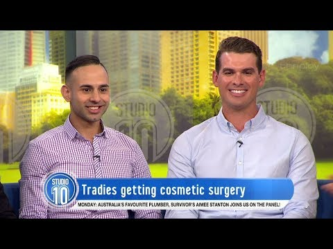 The Tradies Getting Cosmetic Surgery | Studio 10