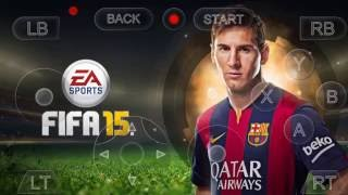 Running FIFA 15 XBOX LIVE  on Android device HD