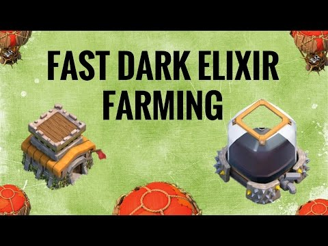 TH8 (Town Hall 8) Dark Elixir Farming Strategy 2017 |Fast & Easy Attack With Replays |Clash Of Clans