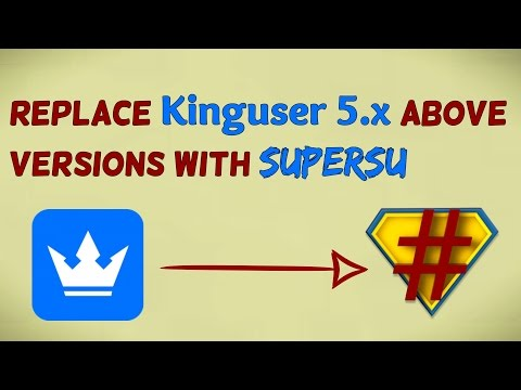 Replace Kinguser 5.x With SuperSu [No PC Needed] 2017