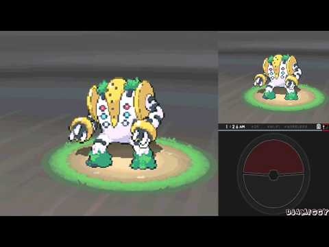 Pokémon Black 2 - Legendary Pokémon Regigigas (レジギガス)