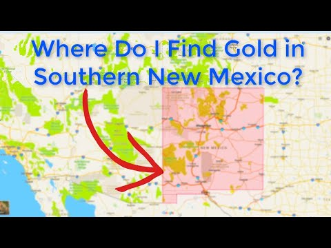 Where Is Gold Found In New Mexico?