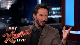 "Keanu talks about turning 50 and his first ever paid acting job.  SUBSCRIBE to get the latest #KIMMEL: http://bit.ly/JKLSubscribe  Watch the latest Mean Tweets: http://bit.ly/MeanTweets8  Connect with Jimmy Kimmel Live Online:  Visit the Jimmy Kimmel Live WEBSITE: http://bit.ly/JKLWebsite Like Jimmy Kimmel Live on FACEBOOK: http://bit.ly/JKLFacebook Follow Jimmy Kimmel Live on TWITTER: http://bit.ly/JKLTwitter Follow Jimmy Kimmel Live on INSTAGRAM: http://bit.ly/JKLInstagram  About Jimmy Kimmel Live:  Jimmy Kimmel serves as host and executive producer of Emmy nominated ""Jimmy Kimmel Live,"" ABC"