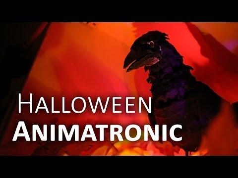 Talking Raven - DIY Halloween Animatronic