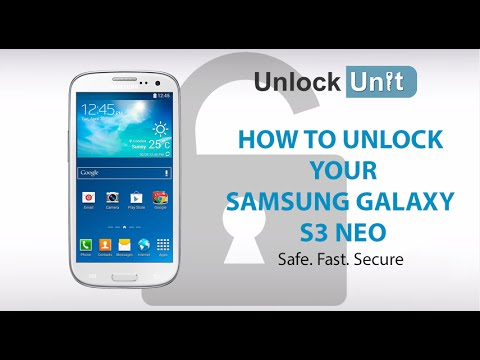 UNLOCK Samsung Galaxy S3 Neo+ - HOW TO UNLOCK YOUR Samsung Galaxy S3 Neo+