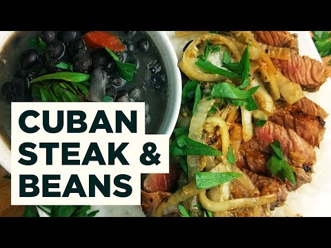 Cuban Steak! Bistec de Palomilla!