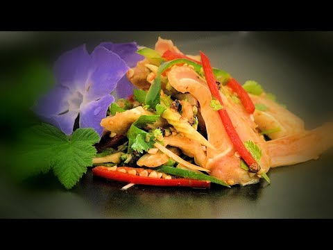 Chinese Spicy Pig's Ear Salad (Chinese Style Cooking Recipe)