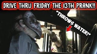 Drive Thru Friday The 13th Prank cops Called