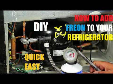 How to Add Freon To Your Refrigerator 134a
