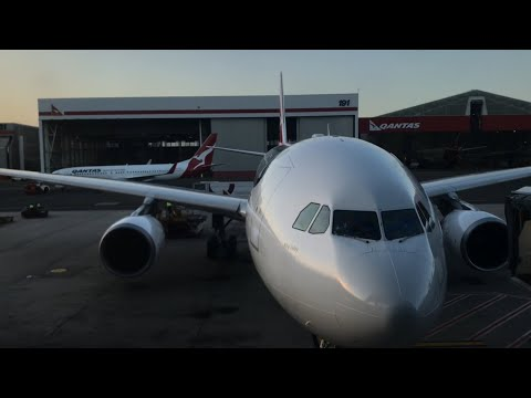 Trip Report | Qantas | Sydney - Perth | Airbus A330 | Economy