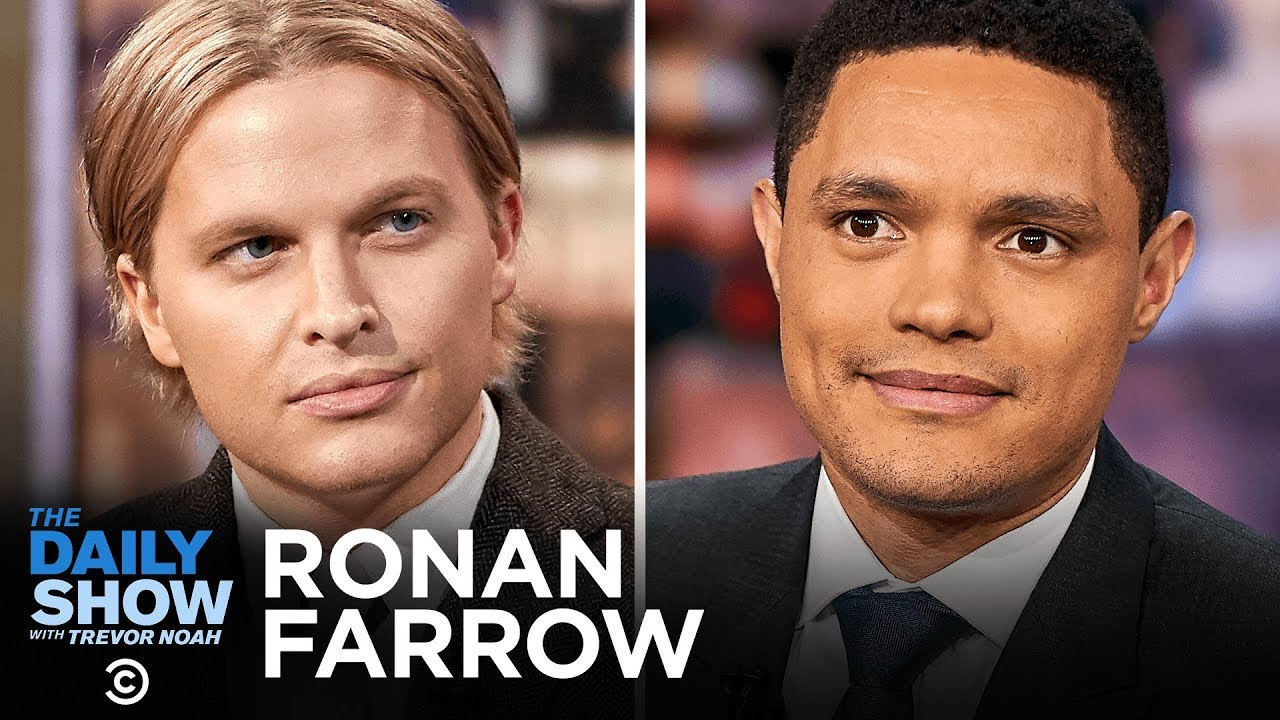"""Ronan Farrow - """"Catch and Kill"""" and Accountability for Harvey Weinstein 