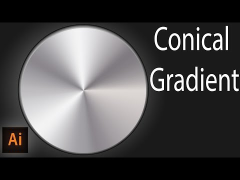 illustrator conical gradient, or angle gradient