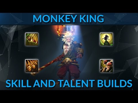 HOW THE PROS SKILL MONKEY KING | Dota 2 Guide by 7k MMR Player ZXYC | GameLeap.com