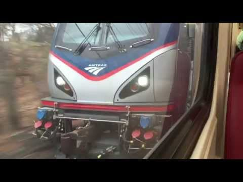 Train Race: Metro North vs. Amtrak Regional