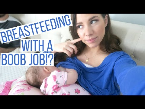 BREASTFEEDING AFTER A BREAST AUGMENTATION: WHAT YOU NEED TO KNOW! | Hayley Paige Vlogs
