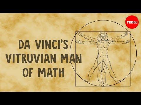 Da Vinci's Vitruvian Man of math - James Earle