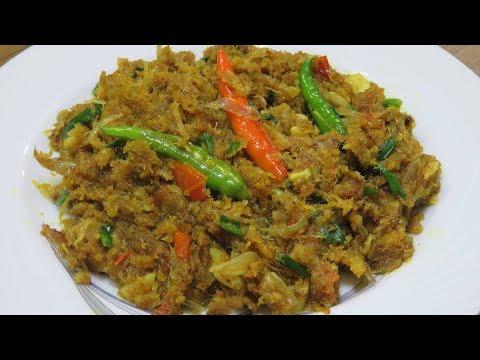 মজাদার লইটা মাছের ঝুরি ভাজা। loita macher jhuri। Scrambel Bombil Fish |