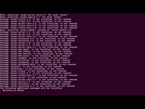 How To Completely Remove MySQL Mariadb on Linux