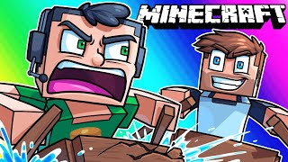 Minecraft Funny Moments - Tripping Balls in a Boat Race!