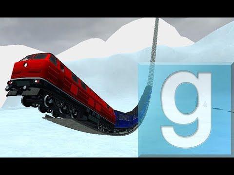 Ultimate Train Track Coaster #2! ✔ | GMod w/Map Download