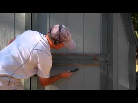 Exterior Painting Step 2: Scraping Loose Paint