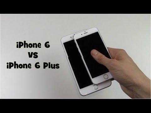 iPhone 6 vs iPhone 6 Plus : Comparison